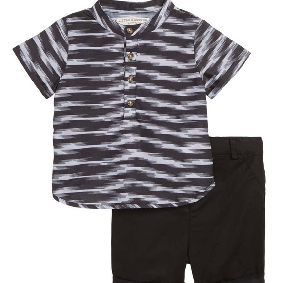 little brother by pippa&julie Other - Shirt short set